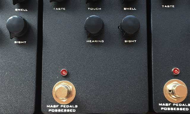 MASF Pedals Possessed BlackFace
